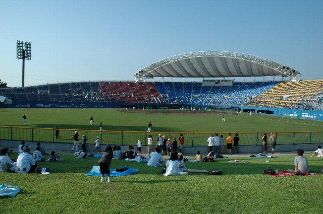 試合結果だけでなく、天気にも恵まれた2日間でした。