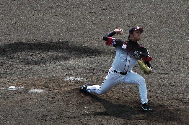 15 上野 大樹/帝京高−東洋大−千葉ロッテ(2009年〜)