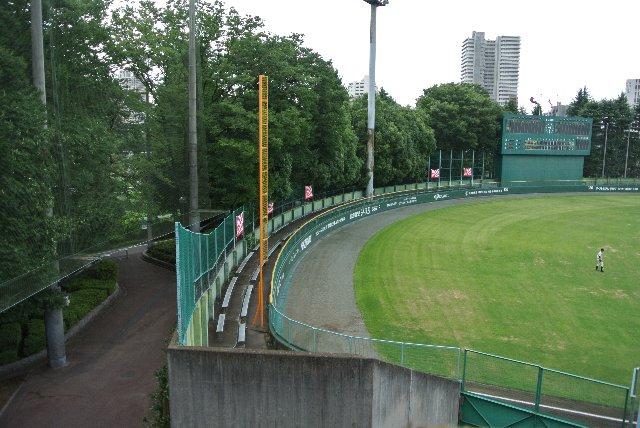 むしろこのスペースを取り払って、フェンスを高くすることで、ある程度のグラウンドスペースを確保できるはずだ。
