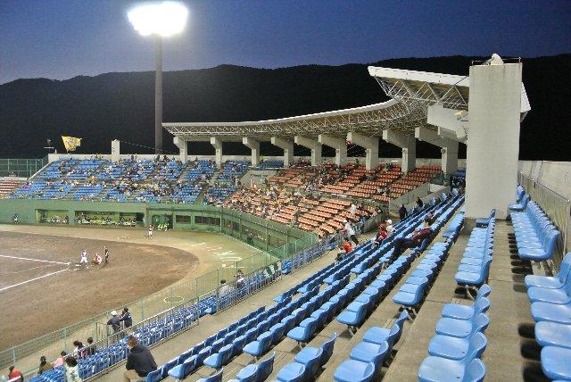 観戦する側にとってもありがたい球場施設の充実ぶりです。