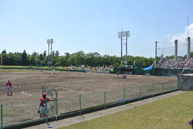 うちが観戦した日も、主にこのエリアに陣取って試合を観戦してました。