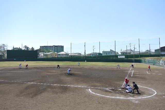 試合では梅田学園が徐々に反撃中。