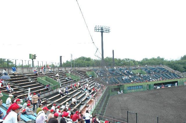 初代の悠久山野球場はこの位置にあった。