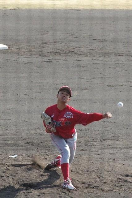 ぴりっとしない投手陣の中で、唯一、好投を見せてくれた気がする。