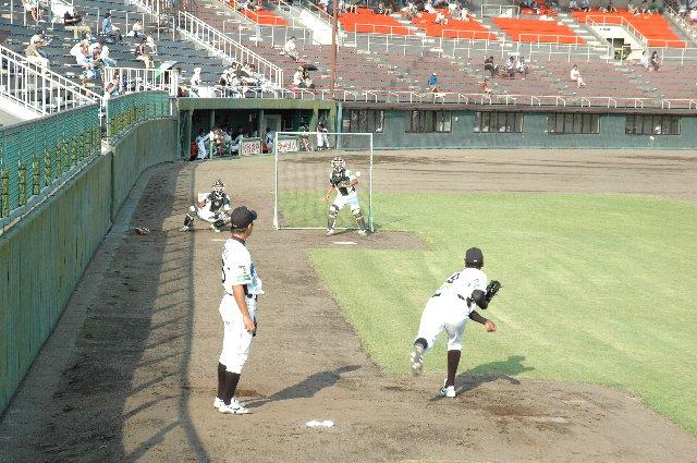 BCリーグが使用する球場では、ブルペンが別に設置された球場の方が珍しい。