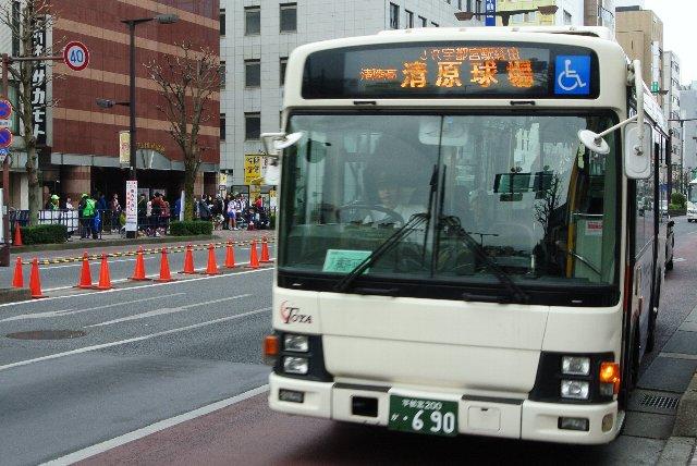 本数的にはJRバス関東の方が多いです。