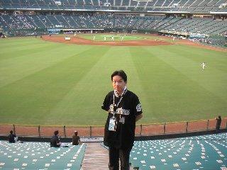 神戸初見参、試合前に記念撮影。