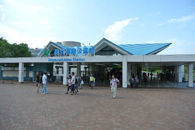 開放的な雰囲気は、猫屋敷の最寄り駅と似ている。