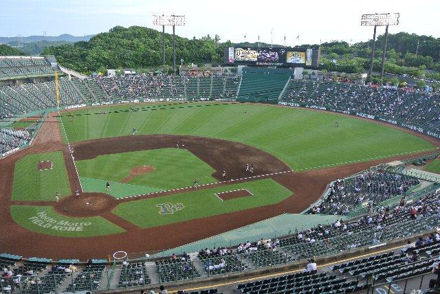 やっぱり、この球場は日本一だわ