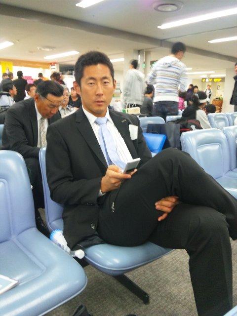 快く写真を撮らせてくれたので、今回は本名でご紹介します(笑)。九州シリーズでは登板の無かった吉見さんです。