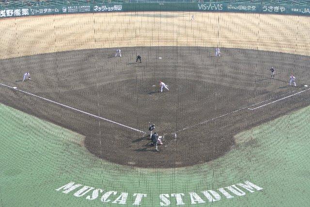 岡山県倉敷スポーツ公園野球場(倉敷マスカットスタジアム)