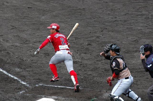 日公の先発立田はBCリーグのチームを少し下に見過ぎていたのでは? お陰で打線が活発に機能し、意外にも信濃のワンサイドゲームとなった。