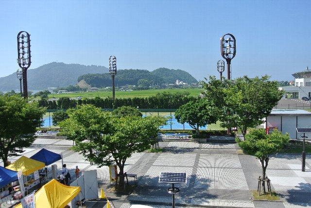 球場前広場以外にも遊休地が多く、何でもできちゃいそうな感じ(笑)