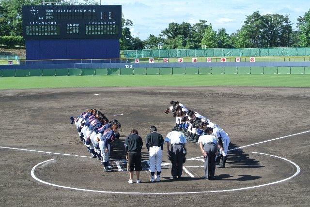 日曜日に観戦した武庫川女子大vs桜花学園大学での一コマ。