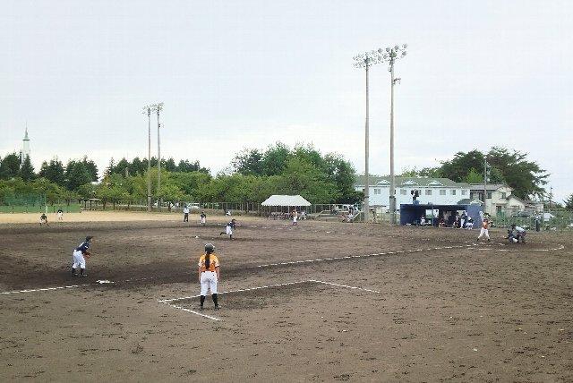 ここで試合する選手達、桃山球場で試合するまでは...と発憤できるかも。