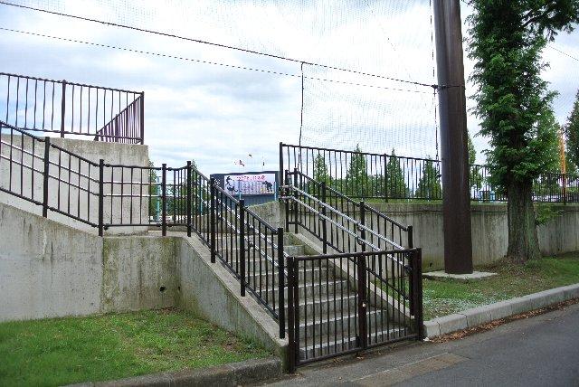 ここが開くのは高校野球の県大会くらいですかねぇ。