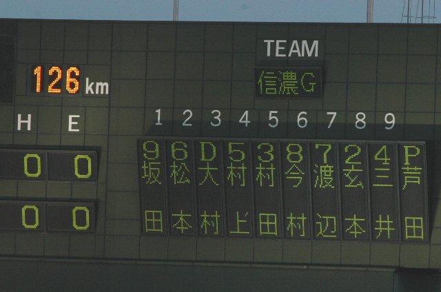 NPBとの交流戦を経験させるべく、投手も、野手も短いイニングで交代。さながらオールスターゲームのようでした。