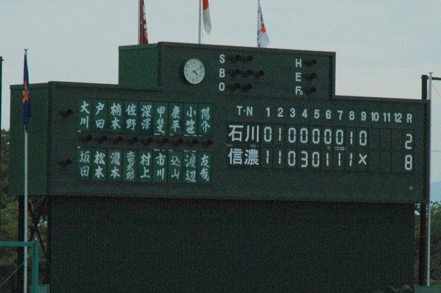 数字のフォントが非常に珍しいと感じました。手書きの選手名表示も素敵です。