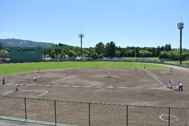 七尾市城山野球場