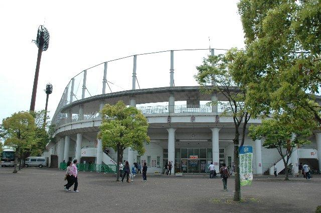 思ったよりも綺麗な球場だ...というのが第一印象。