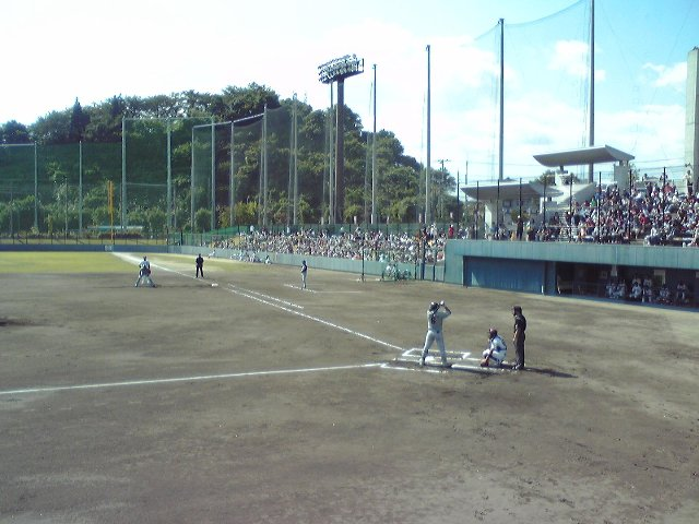利府町中央公園野球場(楽天イーグルス利府球場)