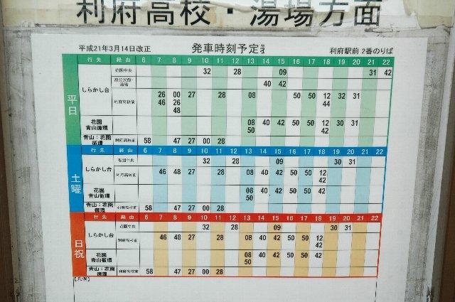 仙台方面からの列車に合わせて、駅前から出発。所要時間は約20分、料金190円。