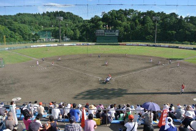 新発田市五十公野公園野球場
