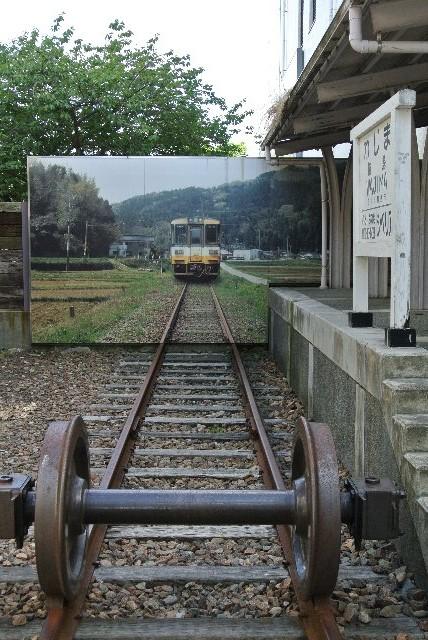 この方式であれば駅舎全部を静態保存する必要は無い訳だ。