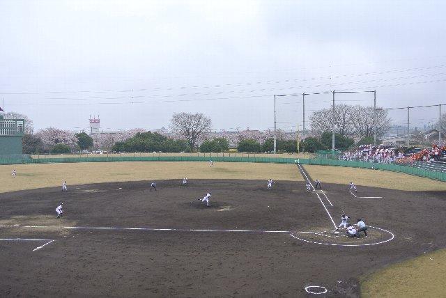 栃木市総合運動公園野球場