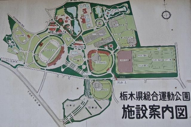 施設が整備された運動公園であることがわかります。