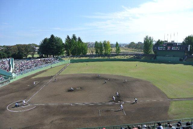 栃木県総合運動公園野球場