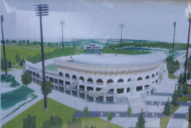照明施設を完備したスタジアムに生まれ変わるようです。