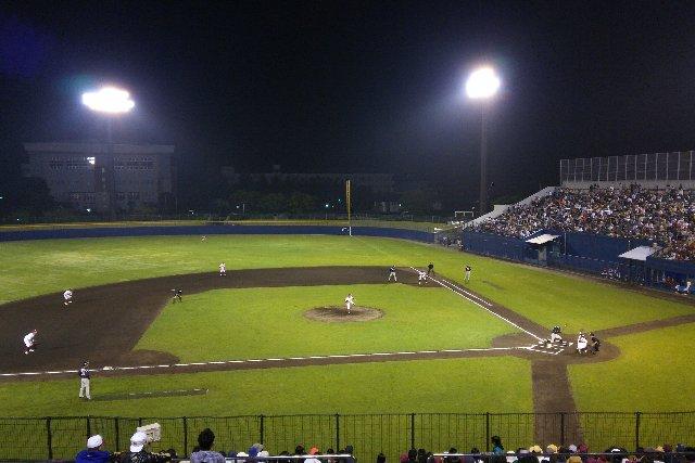 やっぱり、この球場、最高だわぁ。