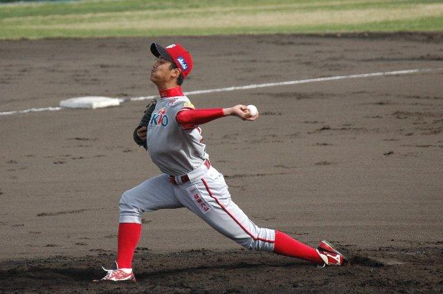ハートの強い投球は、競った試合で必ずやチームの力になるでしょう。