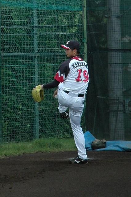 Marines 19 唐川侑己投手
