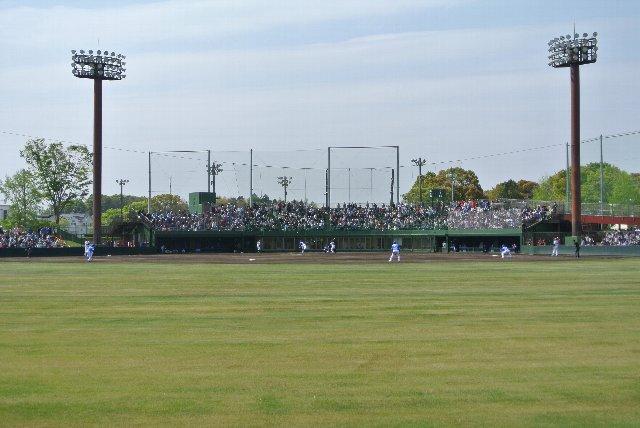 球場全体が見渡せたり、程よい傾斜があったりと内野席より数段見易い環境にある。