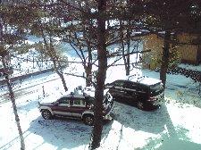 日中のぽかぽか陽気で雪はすぐ溶けちゃいましたけどね。