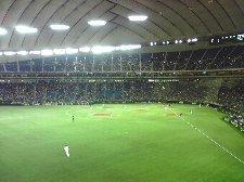 今日は楽天が球団初の東京ドーム主催試合