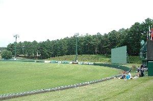 フェンスが低いので本塁打量産、ちょっとやりすぎでしたね(笑)。