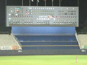 NPBの試合開催時に、安打数表示とエラー数表示ができないのは結構致命的ですよ。