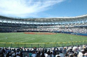 試合開始前後は暑さを感じたものの、風は心地よく、非常に観戦し易かった。
