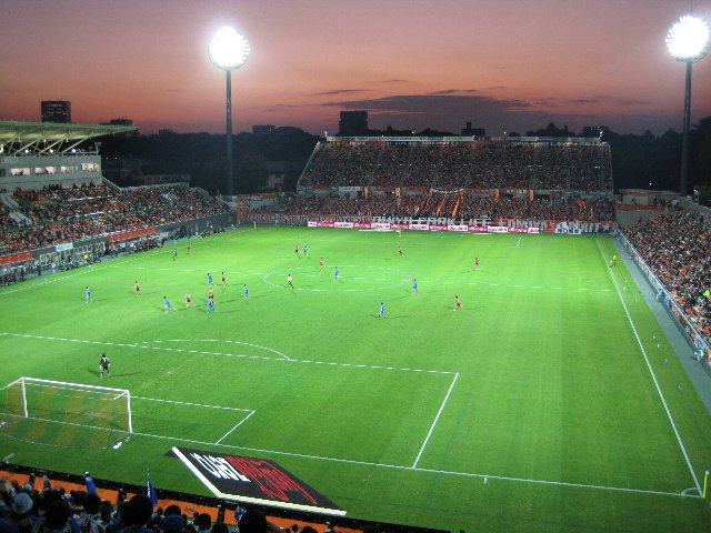 このクラブは嫌い、でもスタジアムは好き...ってのが、非常に複雑なんだな。