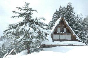 雪が降っていたと思えば晴れ間が覗き、晴れたと思えば霰が降る。今日は何ちゅう天気なんや。