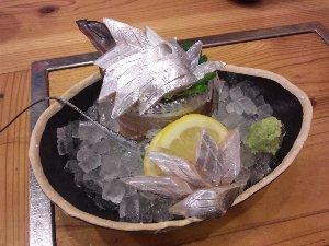 ここまで来ると、お店で出てくる魚も変わってきますね。