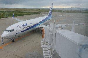 前回訪ねた空港が佐渡空港だったので、徳島阿波踊り空港は非常に立派な空港に見えた(爆)。