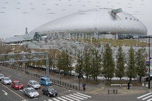 やはり屋根がある球場というのは胸がときめきません。