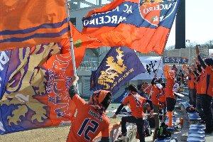秋田、盛岡、金沢、琉球...と大遠征が多い中で、町田は比較的観戦に来やすいんでしょうね。