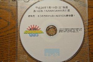 DVDの内容を複製することは禁じられていますので、メディアの画像のみ紹介します。