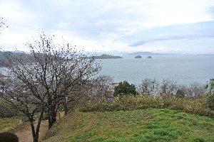 港周辺に高台が数ヶ所あるので、港を俯瞰し易いのが嬉しい。