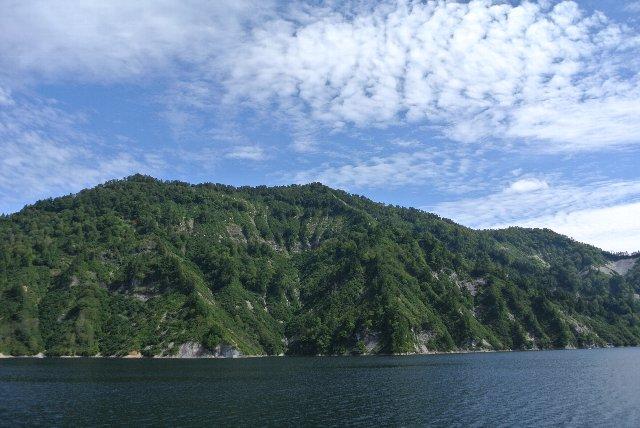 遊覧船に乗っている間、一瞬だけ福島県に足を踏み入れます。